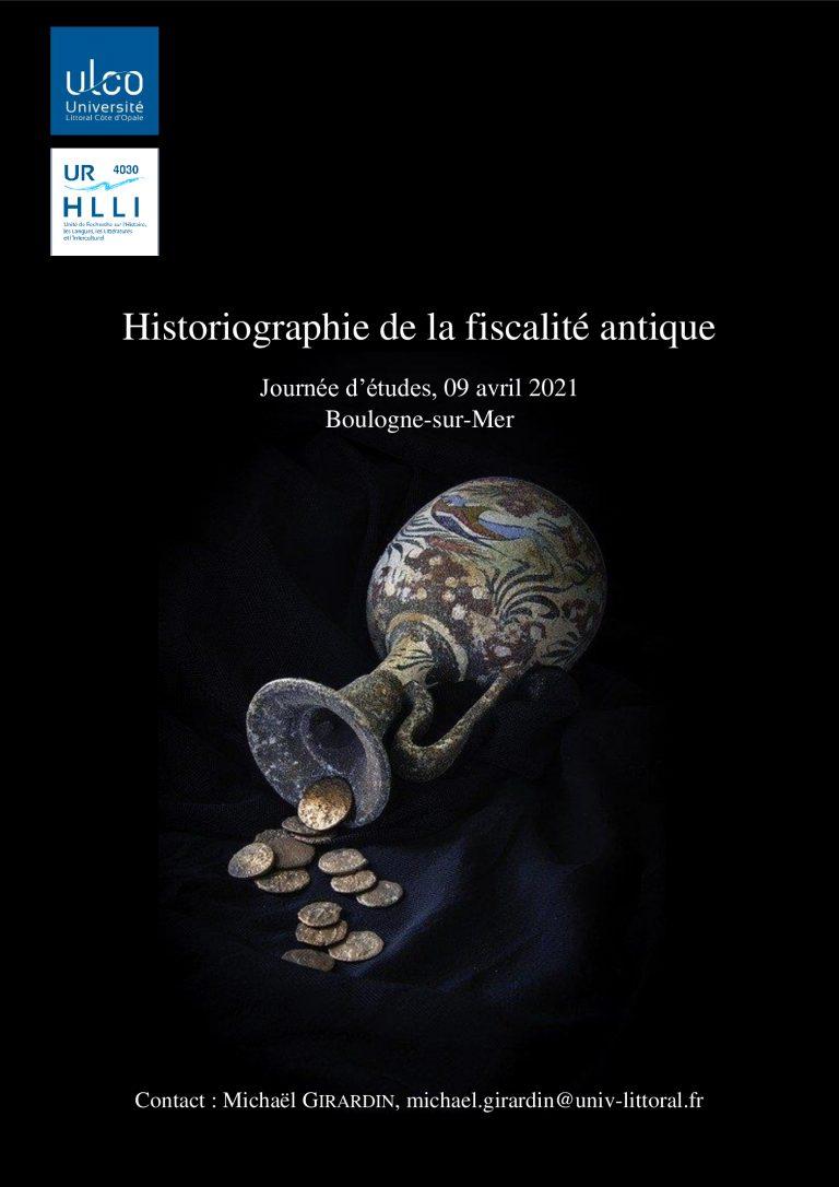 Historiographie de la fiscalité antique
